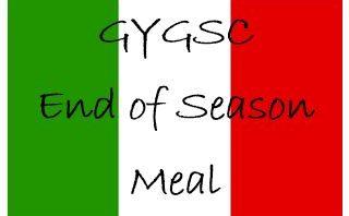 End of season meal