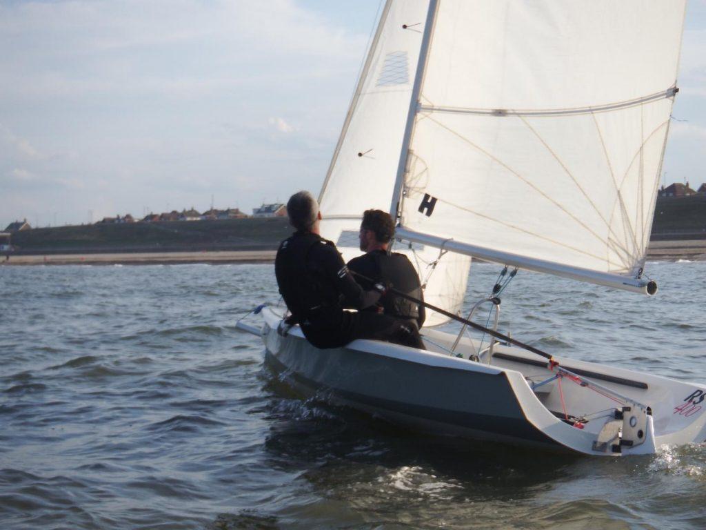 Dan & Andy testing the club 400